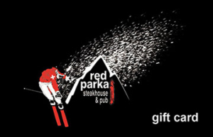 red parka giftcard